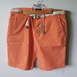 American Eagle Flat Front Shorts